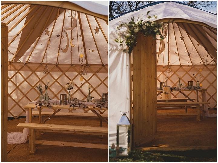 'Celestial Boho' Sustainable Yurt Wedding Inspiration