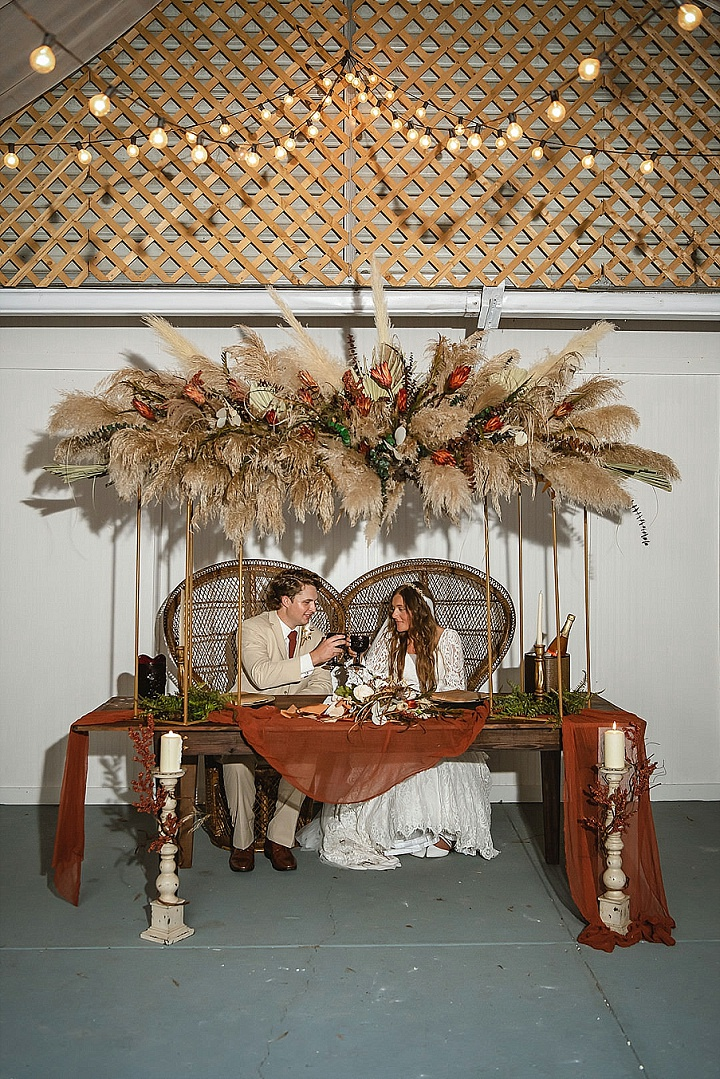 Jerrica and Michael's Bohemian Fall Wedding in Florida by Tuke Photography