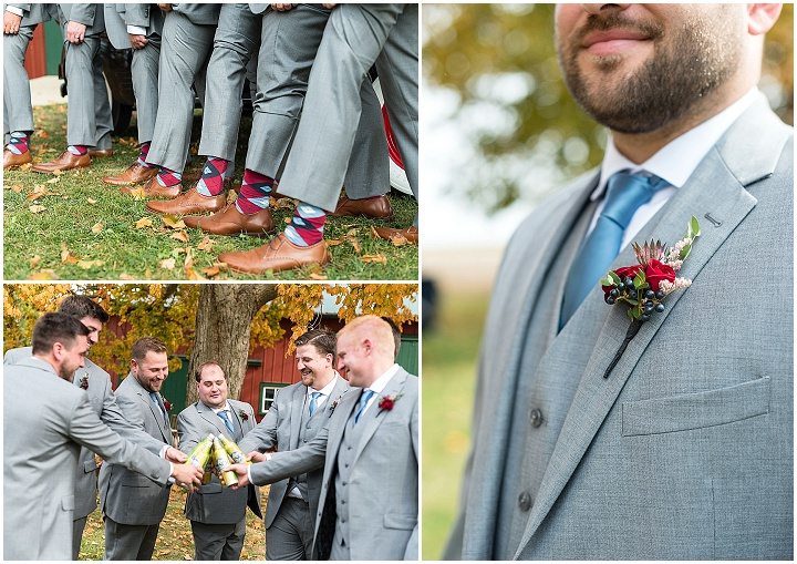 Jacqueline and Tyler's 'Rustic Elegance' Fall Wedding On The Family Farm by Nicki Lynn Photography