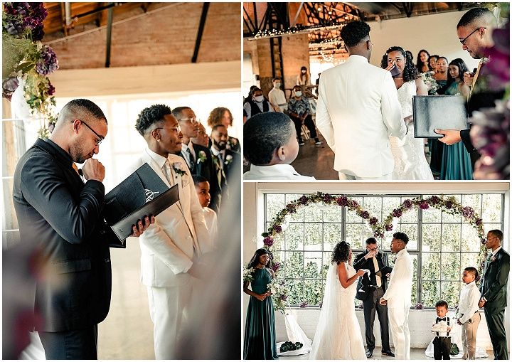 Myah and Kodie's'Urban Romance' Lavender Filled Dallas Wedding by Charmed Life Photography