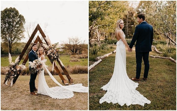 Haley and Dalton Boho Chic Farm Wedding in South Carolina by William Avery Photography