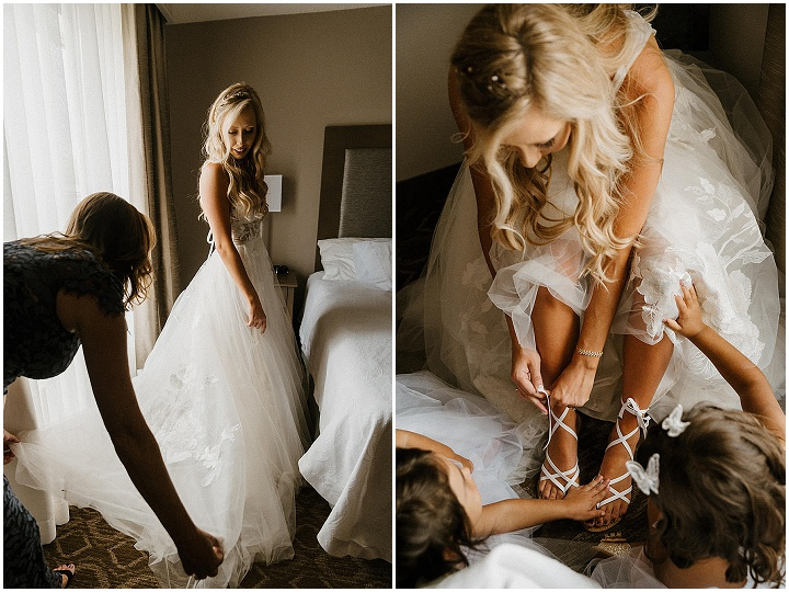 Emily and Carson's Olive Green and Dusty Rose Whimsical Florida Wedding by Josie Brooks Photography